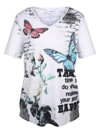MIAMODA Shirt aus leicht strukturiertem Material