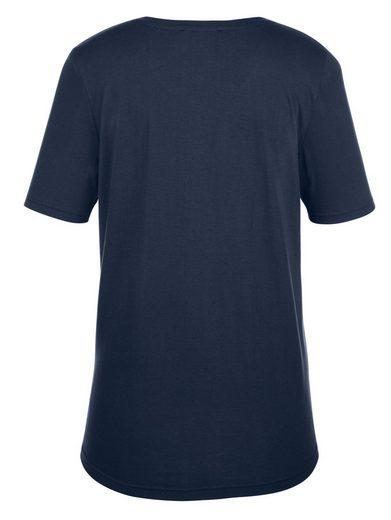 MIAMODA Shirt mit Paisleydruck-Motiv