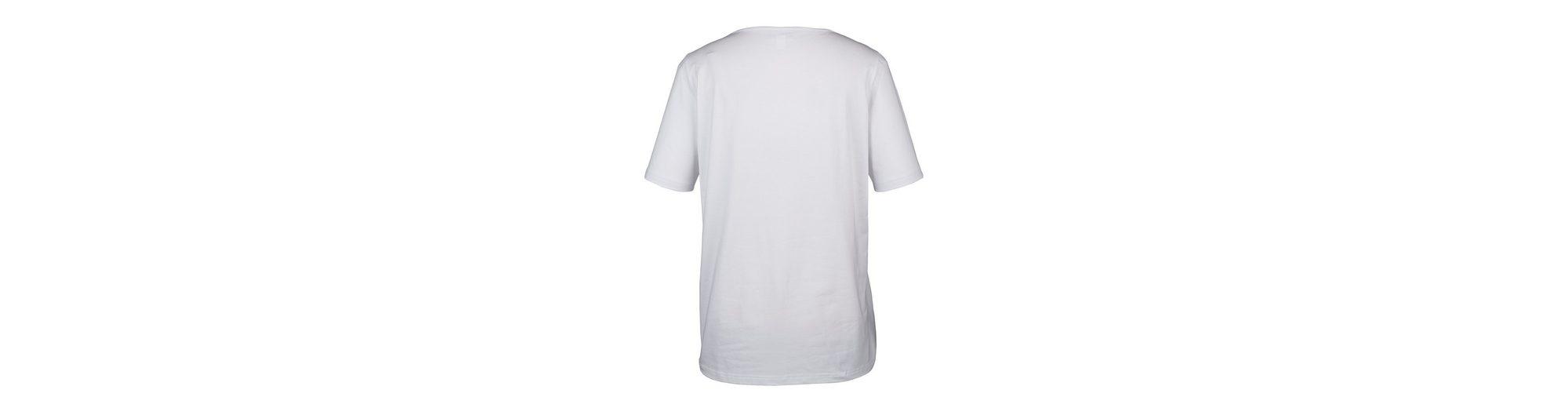 Niedrigster Preis Günstig Online Limitierter Auflage Zum Verkauf MIAMODA Shirt mit Flamingo-Motiven vorne GlhdIXUr