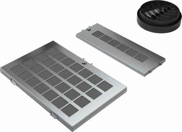 NEFF Umluftmodul Z51AFR0X0, Zubehör für Dunstabzugshauben mit Umluftbetrieb, Starterset, regenerierbar
