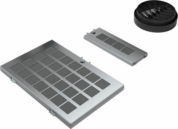 Dunstabzugshaube Neff Cleanair : Neff umluftmodul z air zubehör für dunstabzugshauben mit