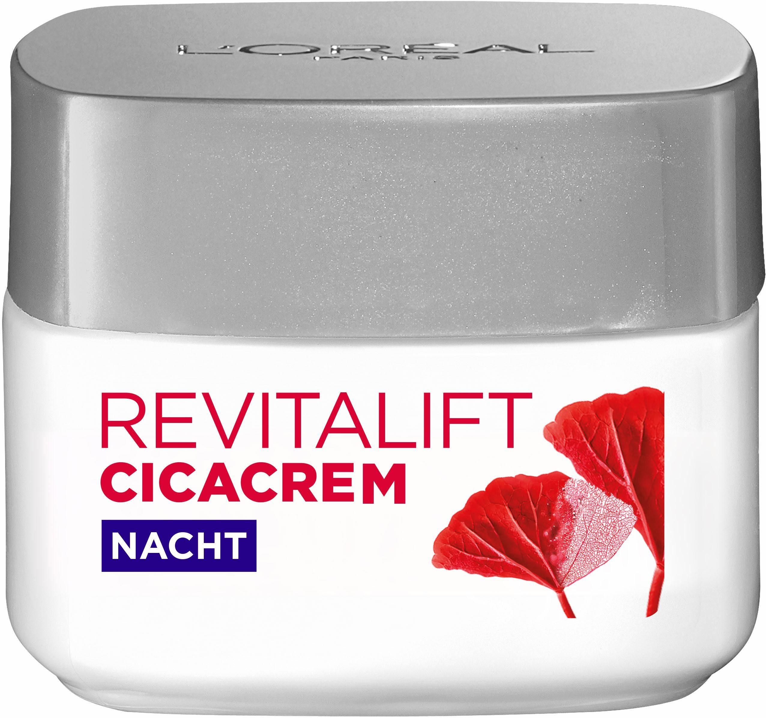 L'Oréal Paris, »RevitaLift CICA Nachtbalm«, Gesichtspflege