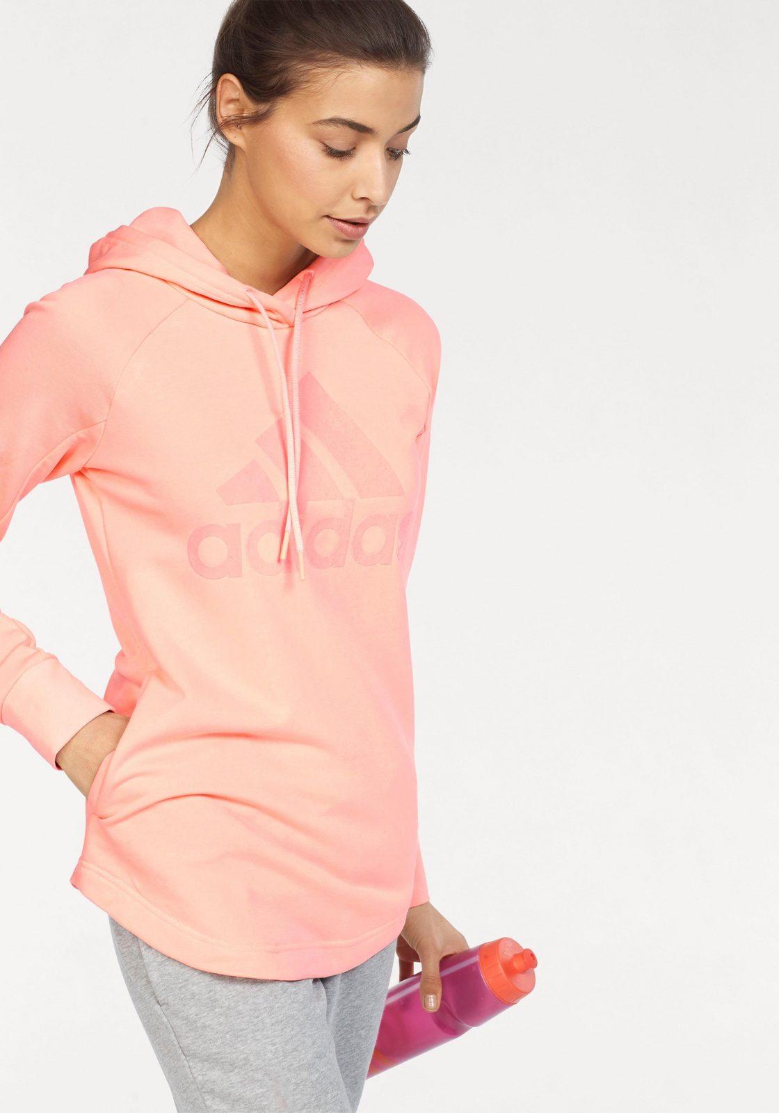 adidas Performance Kapuzensweatshirt »SOLID OPEN HEM HOODIE« auch in großen Größen