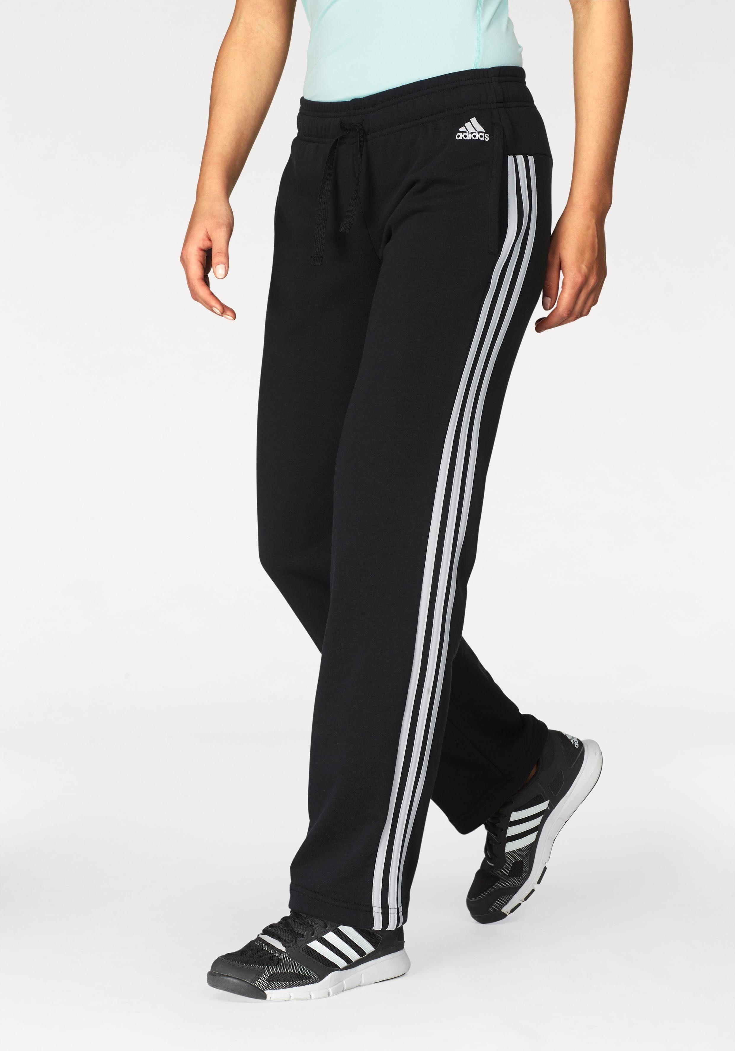 adidas Performance Sweathose »ESSENTIALS 3STRIPES PANT OPEN HEM« auch in großen Größen online kaufen | OTTO