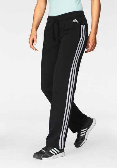 7ad11427d20bbc adidas Performance Sweathose »ESSENTIALS 3STRIPES PANT OPEN HEM« auch in  großen Größen