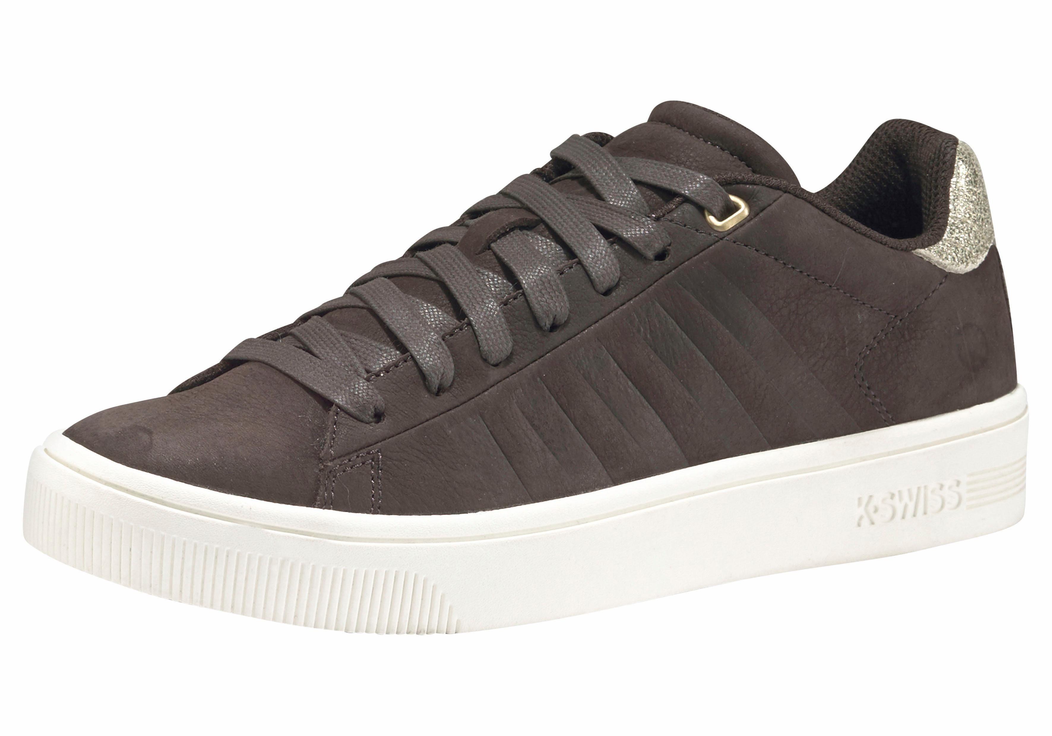 K Swiss Court Frasco Herren Sneaker Dunkelbraun | Online