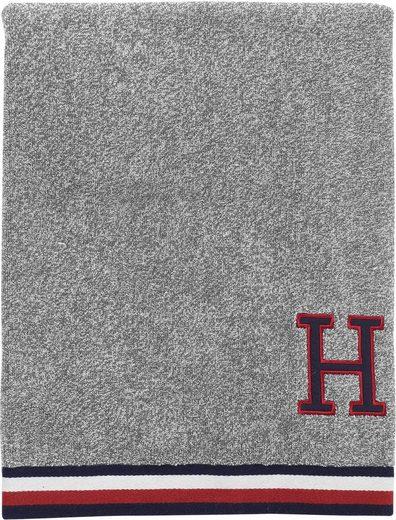 TOMMY HILFIGER Handtücher »Frottee Melange« (2-St), mit H-Applikation