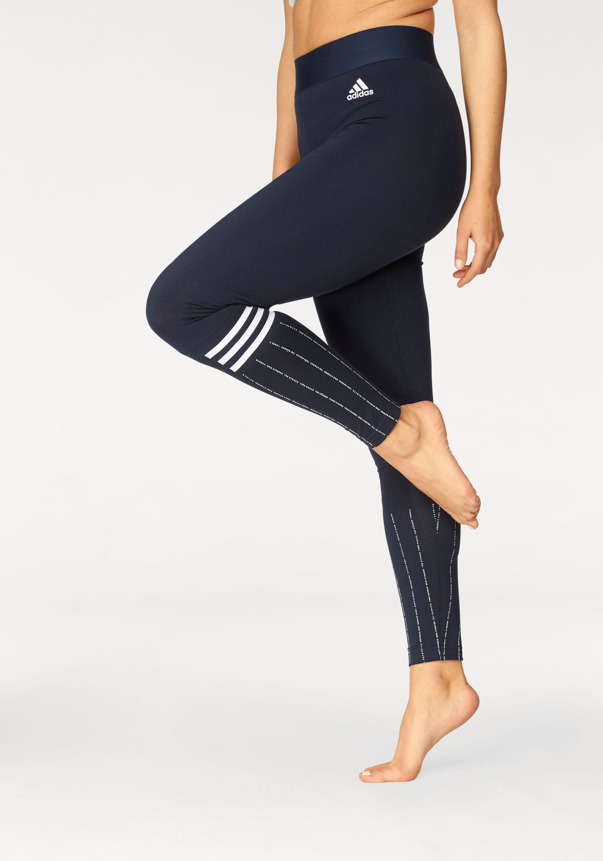 adidas Performance Leggings »SOLID PRINT TIGHT« auch in großen Größen online kaufen | OTTO