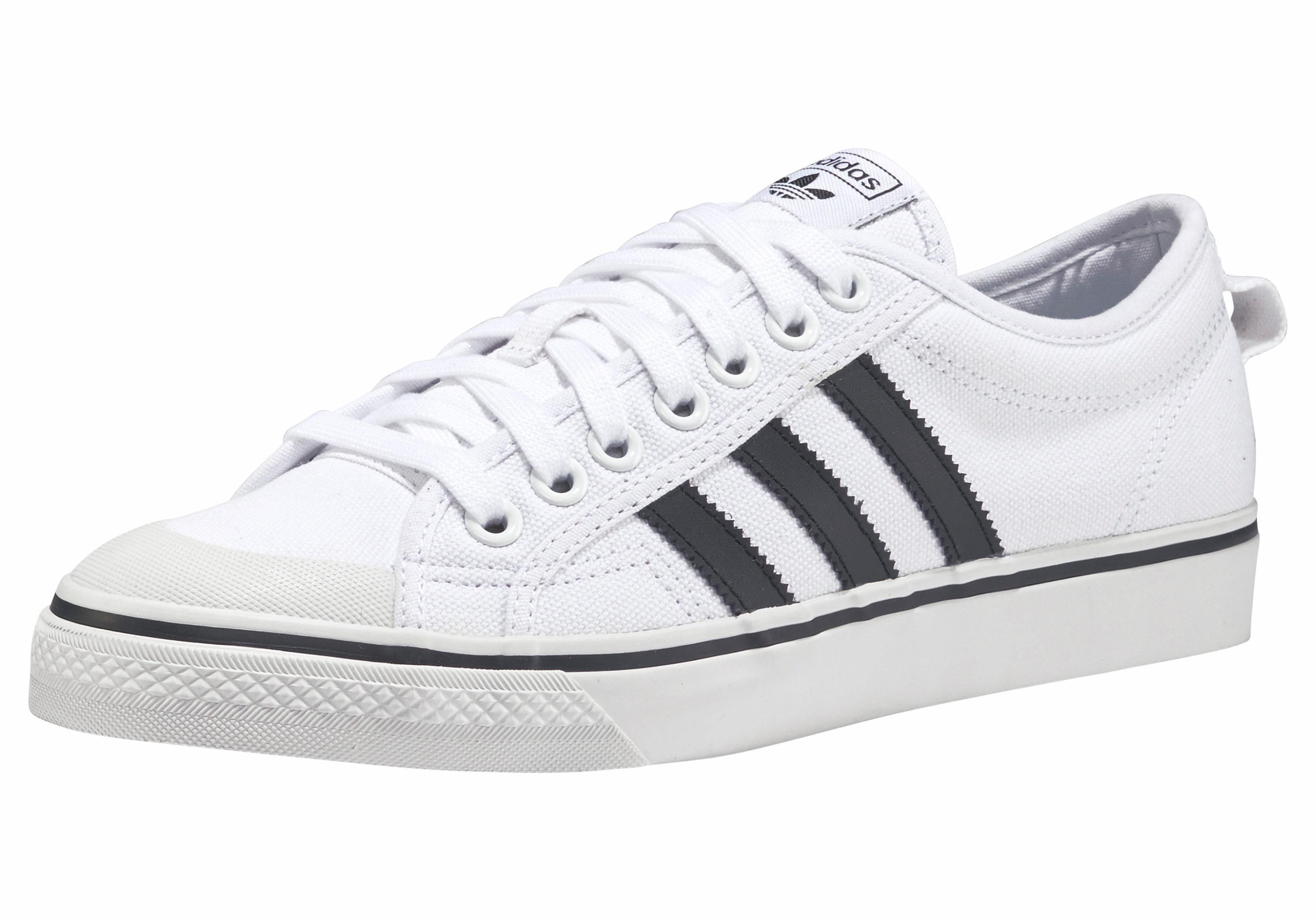 adidas Originals Nizza Sneaker online kaufen  weiß-schwarz