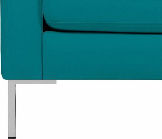 Alte Gerberei Sessel »Marinus«  mit schmalen Lehnen  inklusive Rückenkissen
