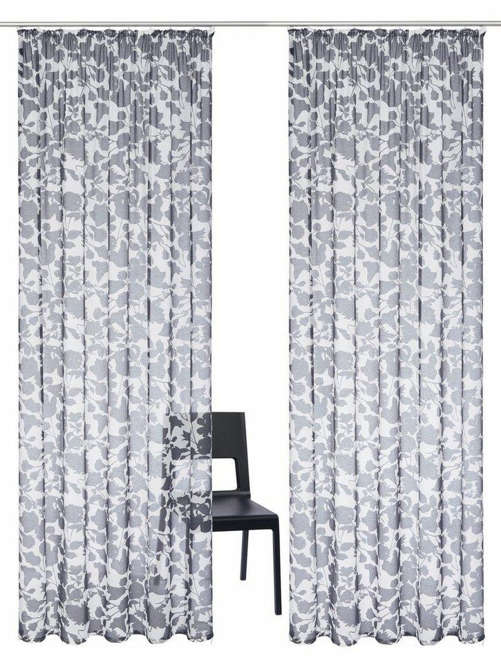 gardine florence guido maria kretschmer home living kr uselband 2 st ck online kaufen otto. Black Bedroom Furniture Sets. Home Design Ideas