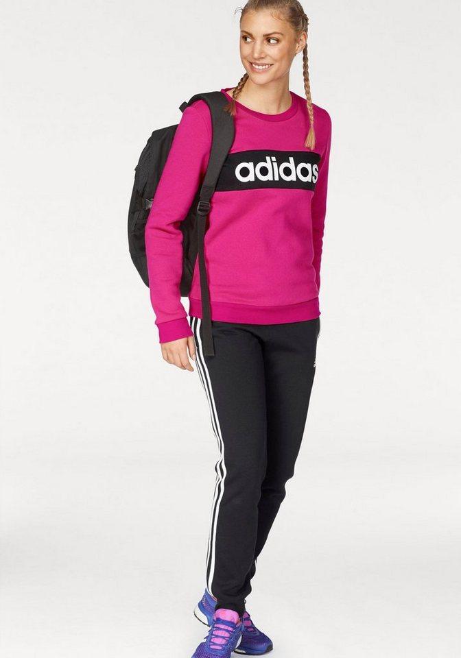 adidas performance jogginganzug women tracksuit cotton. Black Bedroom Furniture Sets. Home Design Ideas