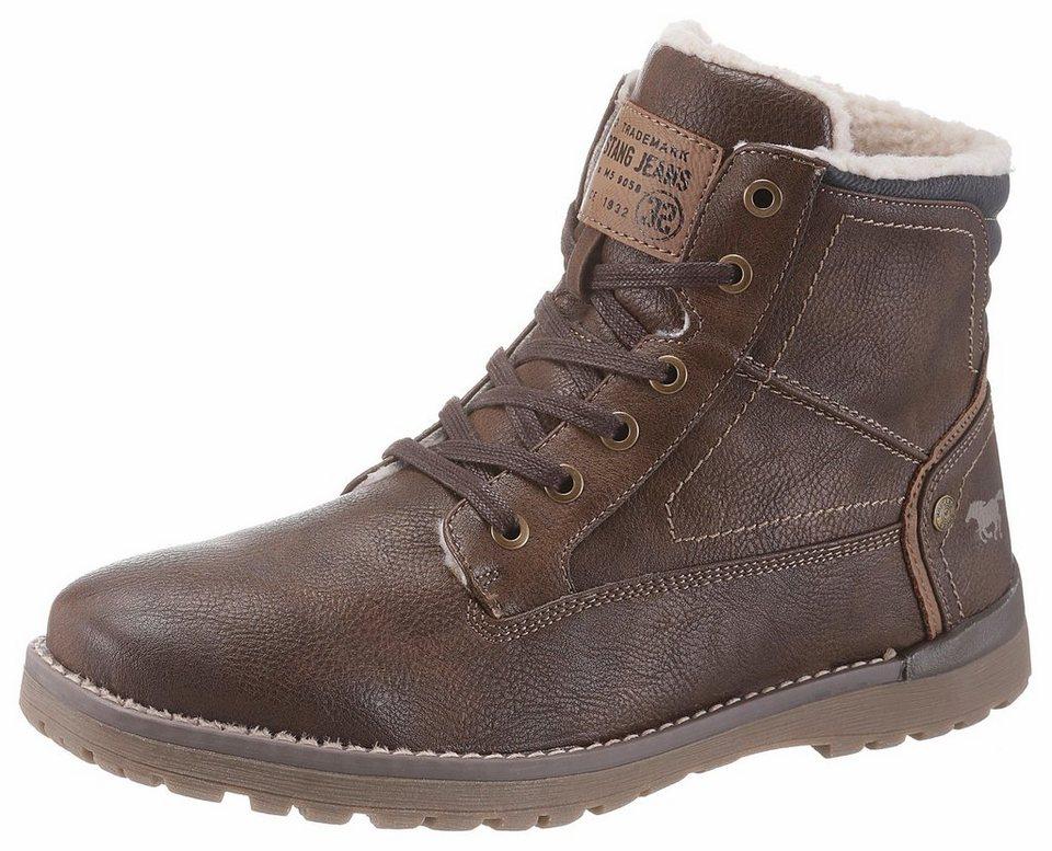 edfec8b5c4ff55 Mustang Shoes Schnürstiefel mit Innenreißverschluss online kaufen