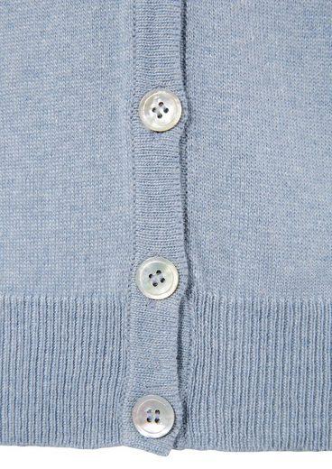 Hohenstaufen Trachtenstrickjacke Damen mit durchgehender Knopfleiste