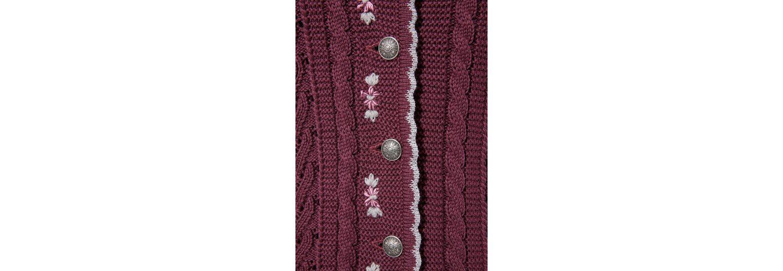 Country Line Trachtenstrickjacke Damen mit Blumenstickerei Auslass 2018 Neu uq5YAH0A
