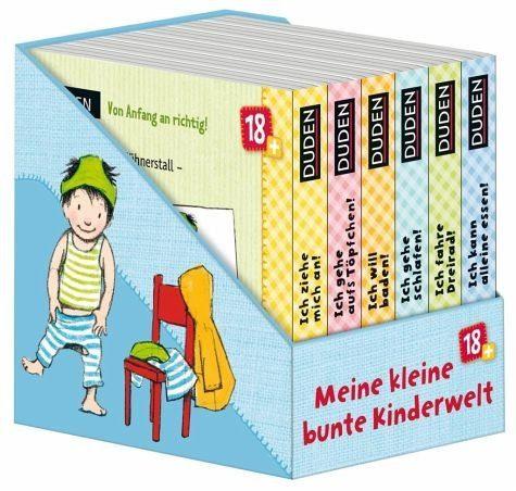 Buch mit Papp-Einband »Meine kleine bunte Kinderwelt (VE 6 Bücher)«