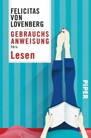 Buch mit Leinen-Einband »Gebrauchsanweisung fürs Lesen«