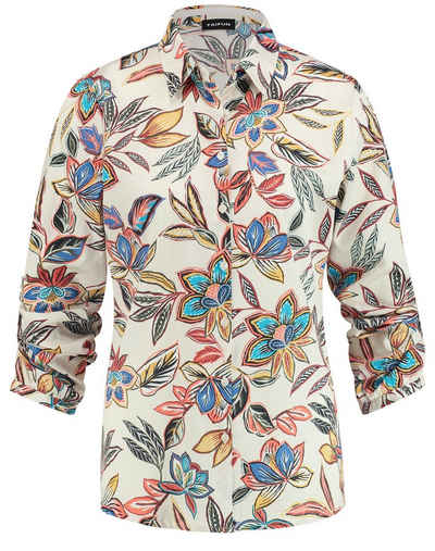 Taifun Langarmbluse »Bluse mit floralem Muster« Bluse