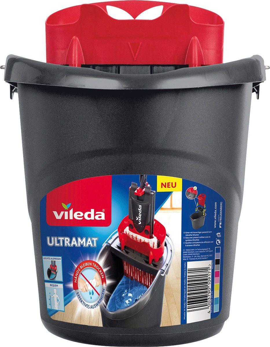 VILEDA Reinigungseimer »UltraMat«, Eimer mit PowerPresse