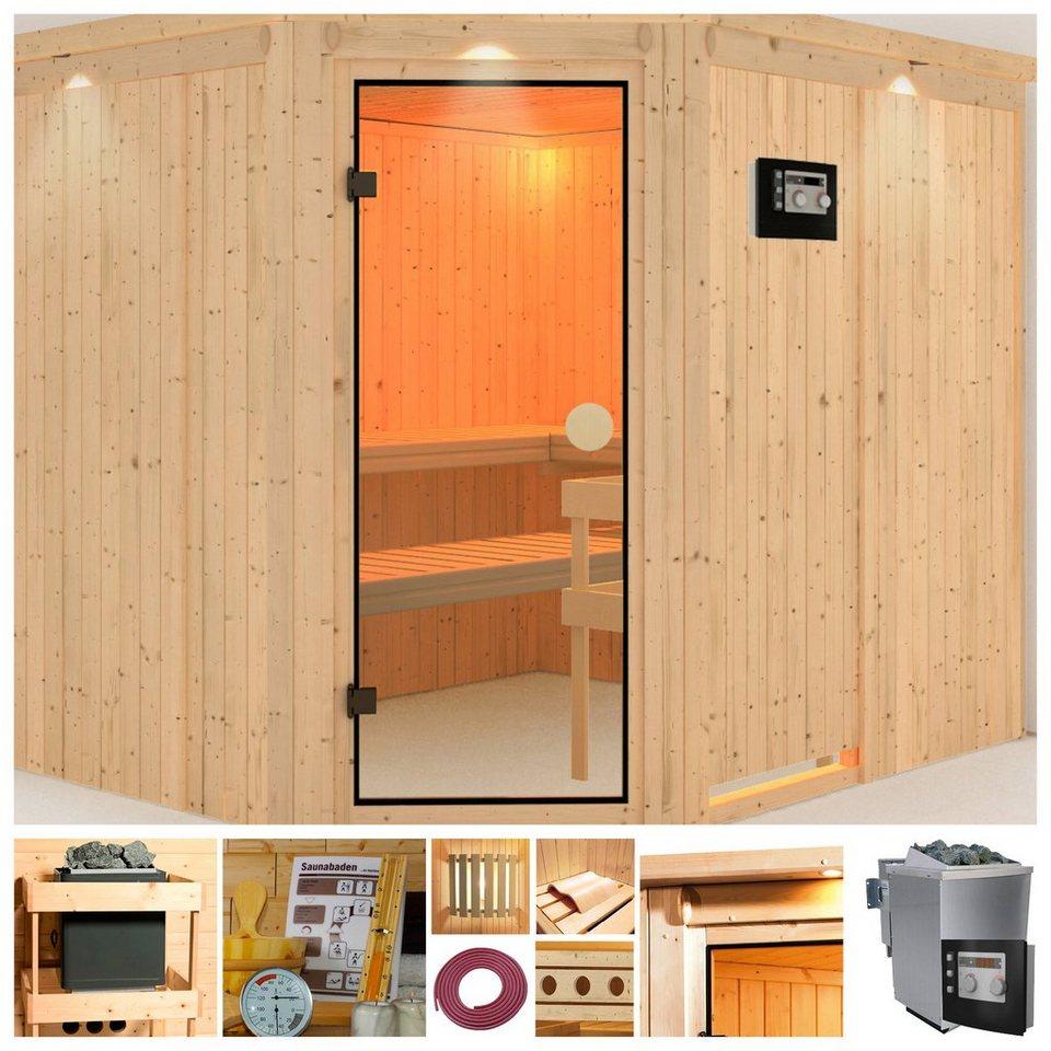konifera sauna alida online kaufen otto. Black Bedroom Furniture Sets. Home Design Ideas