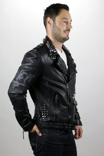 Freaky Nation Bikerjacke Heavens Door
