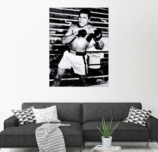 Posterlounge Wandbild »Muhammad Ali«