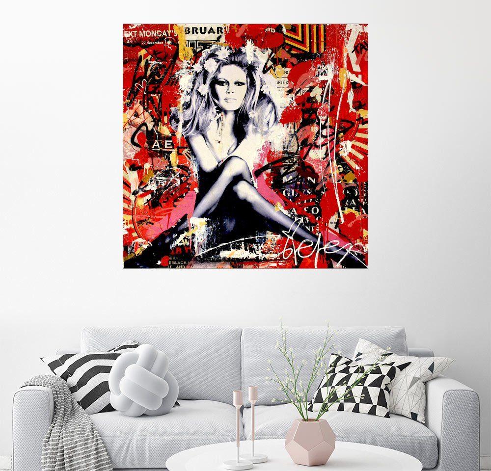 Posterlounge Wandbild - Michiel Folkers »Brigitte Bardot«