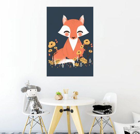 Posterlounge Wandbild - Kanzi Lue »Tierfreunde - Der Fuchs«