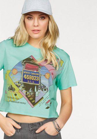WRANGLER Marškinėliai »CROP TEE«