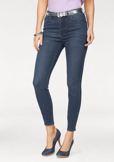 Lee® Slim-fit-Jeans »Scarlett« High Waist mit Zipper am Saum