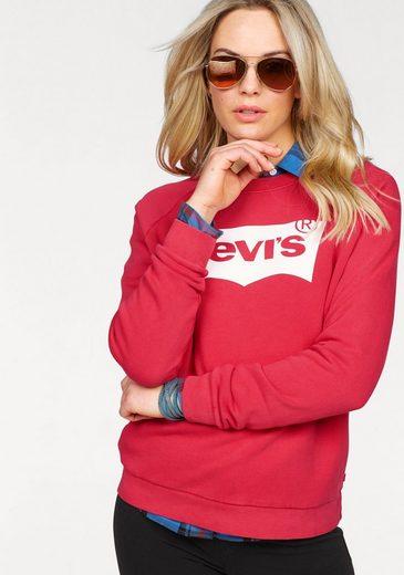 Levi's® Sweatshirt »Relaxed Graphic Crew« Raglan-Ärmel und großer Logo-Print