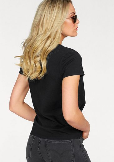 Levi's® T-Shirt Perfect Logo Tee, Mit Stickerei auf der Brust