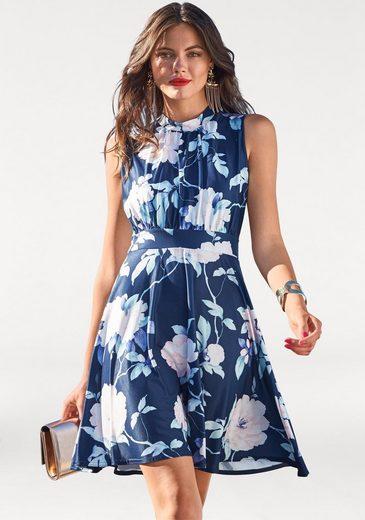 Melrose Jerseykleid, mit Blumen Muster