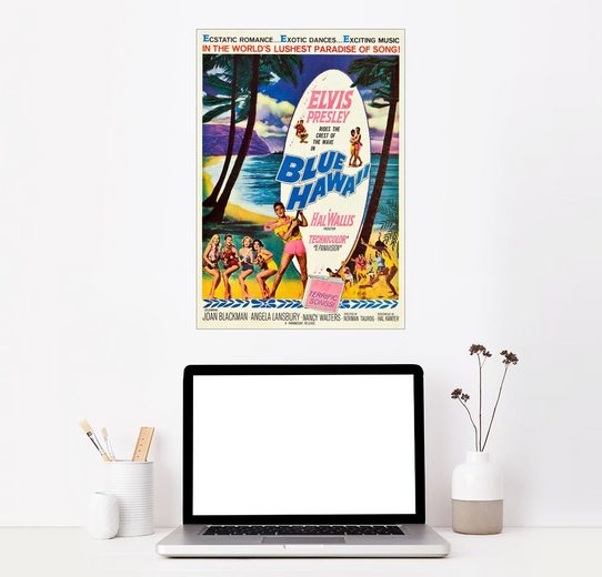 Posterlounge Wandbild »BLUE HAWAII«