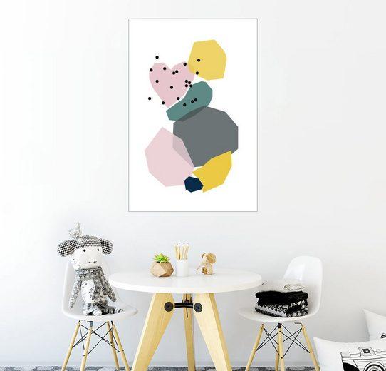 Posterlounge Wandbild - Ohkimiko »Colourful«