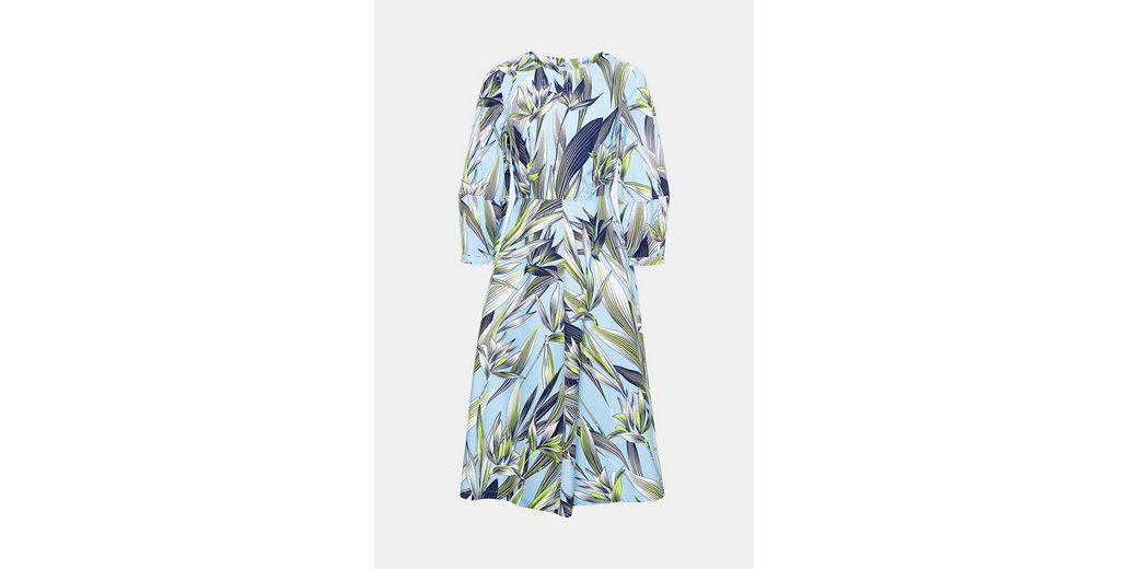 EDC BY ESPRIT Baumwoll-Kleid mit Blumen-Print Große Überraschung Online Bekommen Spielraum Manchester Billig Neueste Freies Verschiffen Der Offizielle Website HUBFiTzol