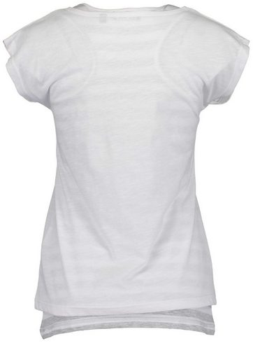 Blue Seven T-shirt With Front-pressure