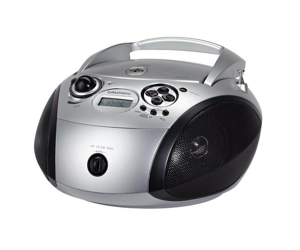 grundig radio mit cd player und mp3 wma wiedergabe grb. Black Bedroom Furniture Sets. Home Design Ideas