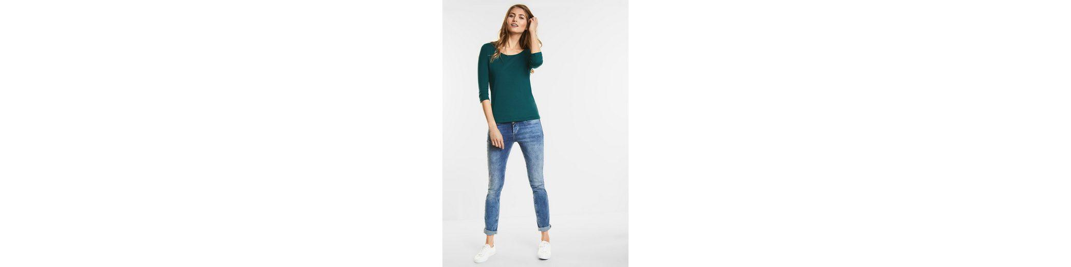 Street One Schmales Basic Shirt Pania 2018 Billig Verkaufen Günstig Kaufen Für Billig Unter Online-Verkauf Billig Verkauf Outlet-Store Sonnenschein ktZ48GSwBd