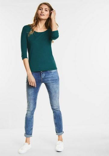 Street One Schmales Basic Shirt Pania
