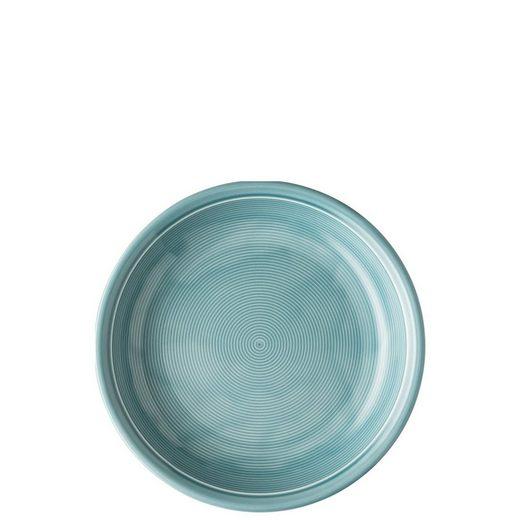 Thomas Porzellan Frühstücksteller »Trend Colour Ice Blue Suppenteller 22 cm«, (1 Stück)
