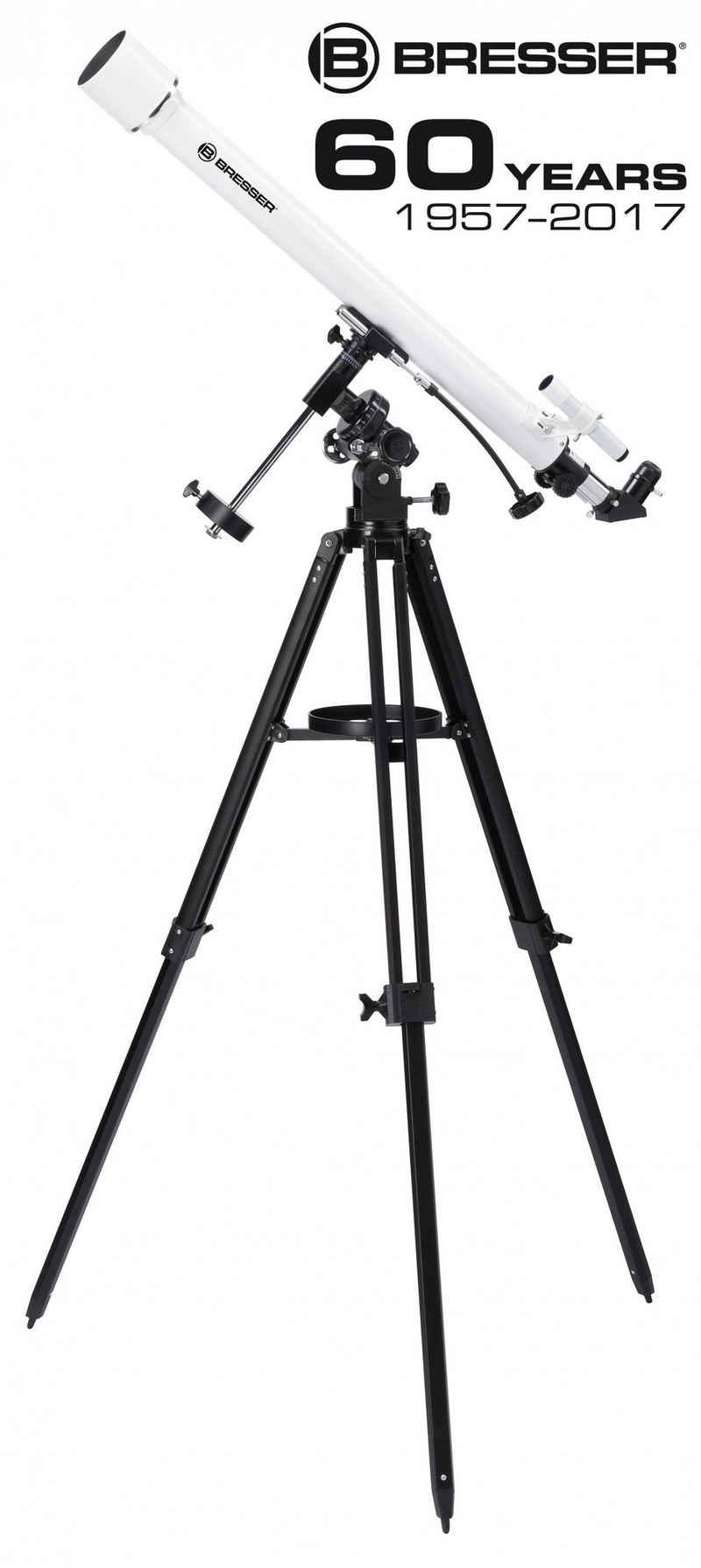 BRESSER Teleskop »Classic 60/900 EQ Linsenteleskop«