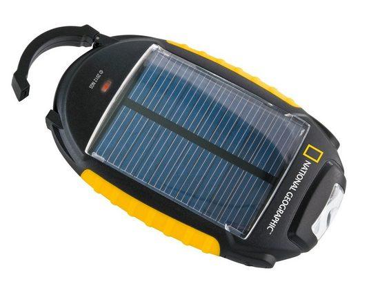 NATIONAL GEOGRAPHIC Ladegerät »Solar-Ladegerät 4-in-1«