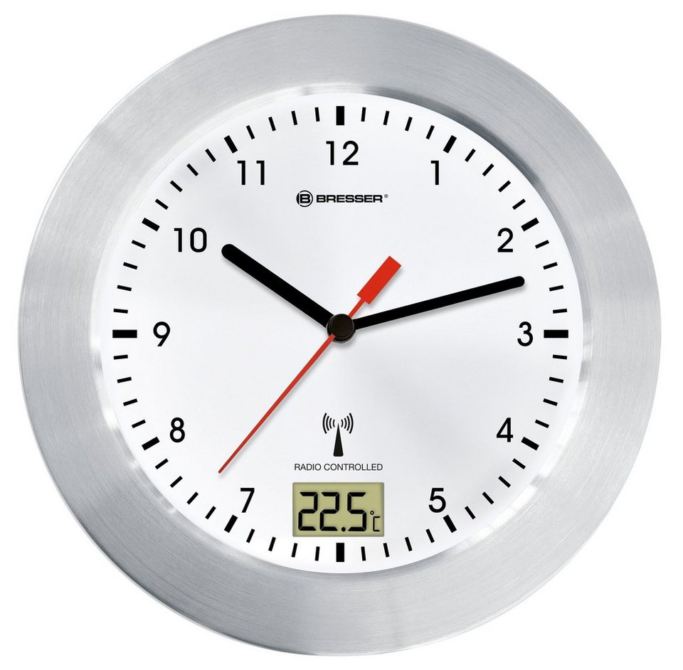 Bresser Uhr Mytime Bath Weiss Funk Baduhr Kaufen Otto