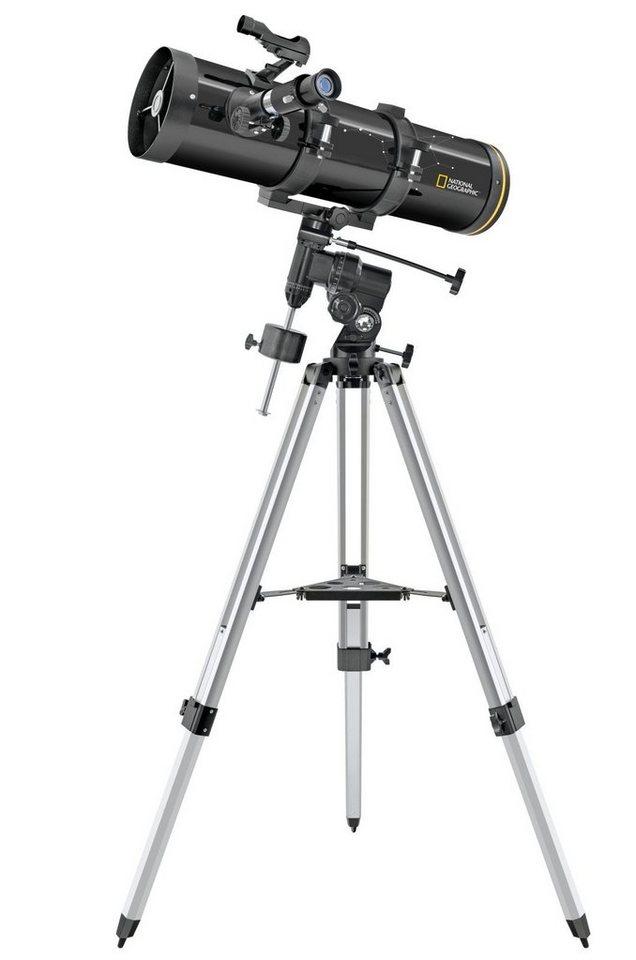 national geographic teleskop newton teleskop 130 650 sph. Black Bedroom Furniture Sets. Home Design Ideas