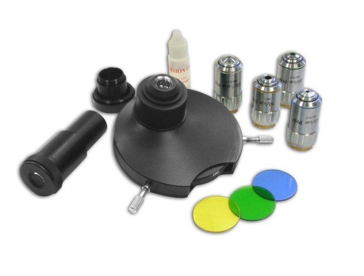 Bresser mikroskop »phasenkontrastsatz für science « online kaufen