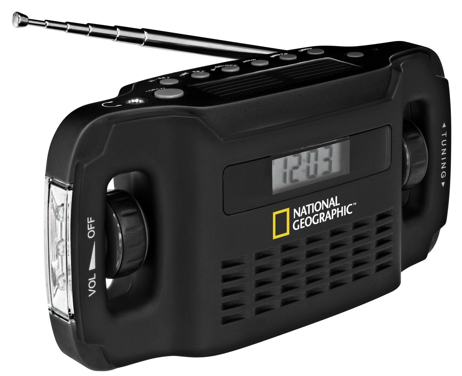 National Geographic Radio »Solar Radio + Ladegerät«
