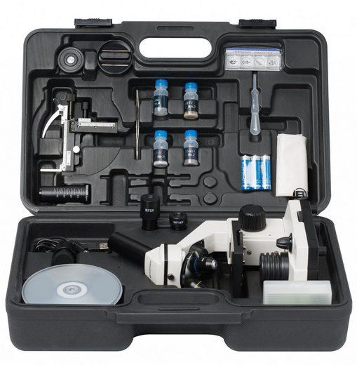 BRESSER Mikroskop »Biolux NV 20x-1280x Mikroskop mit HD USB-Kamera«