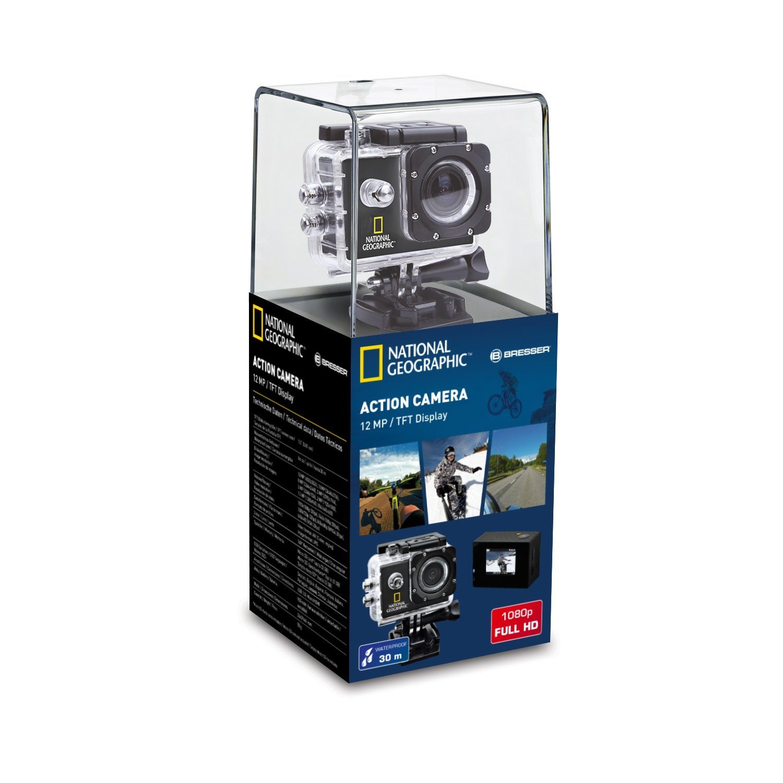 National Geographic Kamera »Full-HD Action Camera, 140°, 30m wasserdicht«