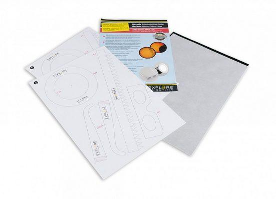 EXPLORE SCIENTIFIC Sonnenfilterfolie »Solarix Sonnenfilter Folie A4«